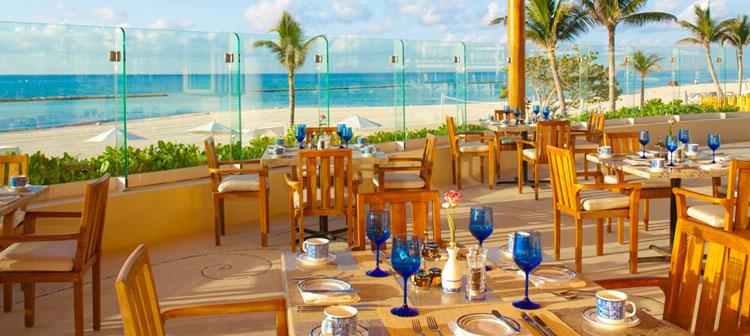 Restaurante Azul Grand Velas Riviera Maya, México