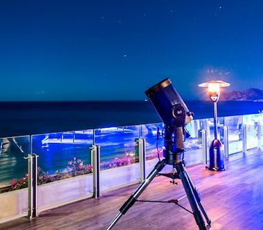 Observación astronómica Los Cabos