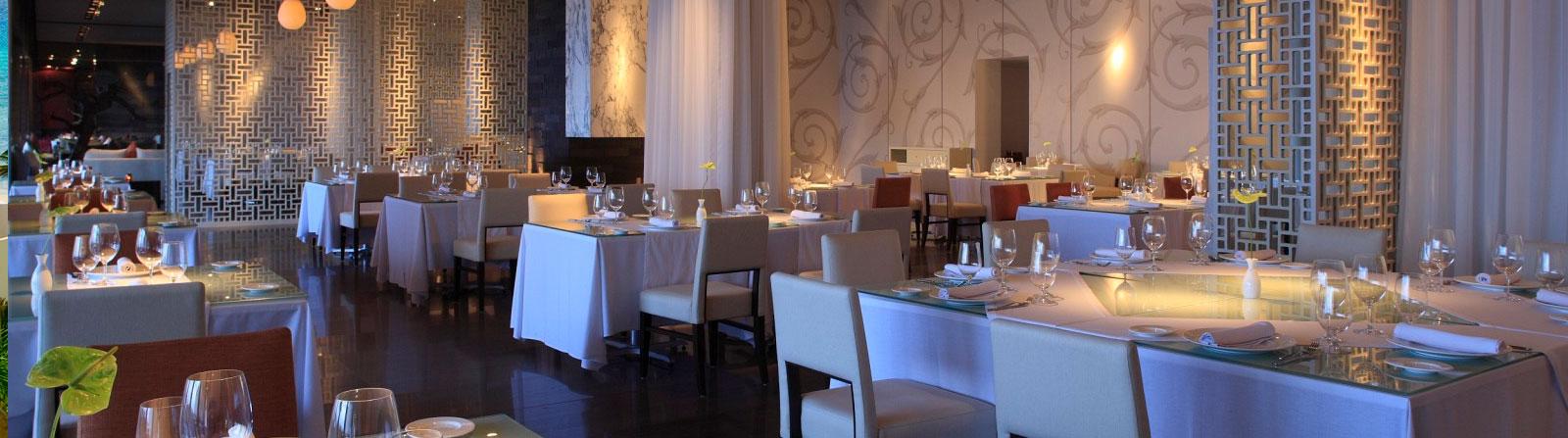 Restaurantes en Grand Velas Riviera Maya, México