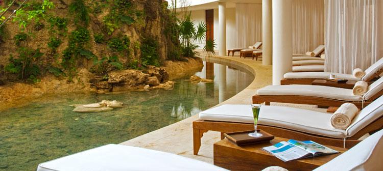 Spa en Grand Velas Riviera Maya, México